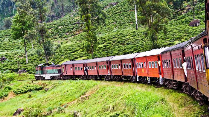 Tåg Kandy - Nuwara Eliya