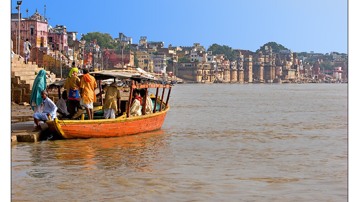 <strong>Varanasi och Ganges</strong>