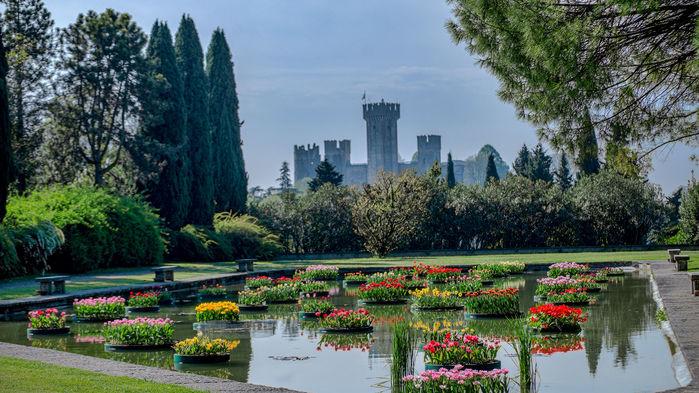 Parco Giardino Sigurtá utsågs 2013 till den vackraste parken i Italien.