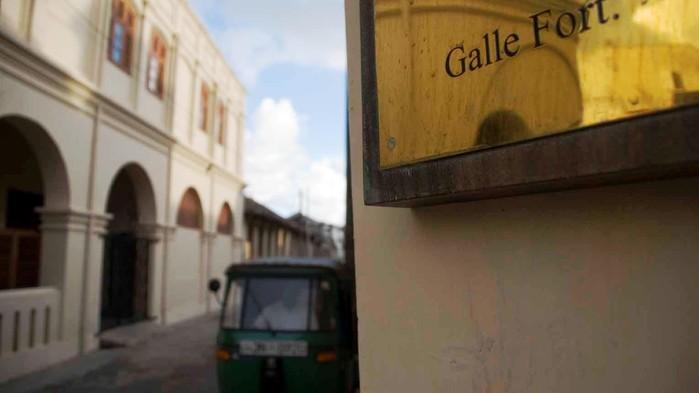 <P>Fortet i Galle</P>