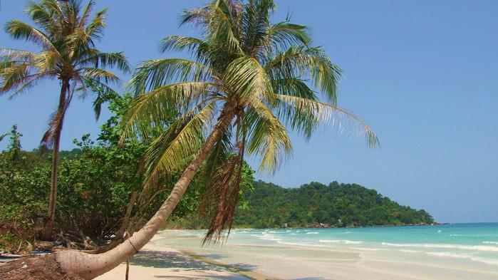Strand på Phu Quoc