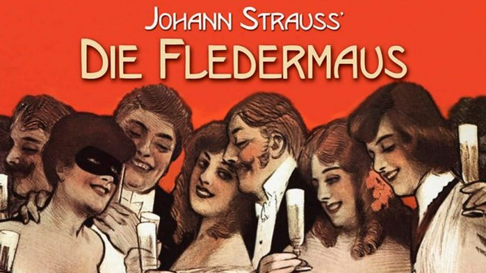 På nyårsdagen ser vi Johan Strauss komiska operett Läderlappen på Semperoper.