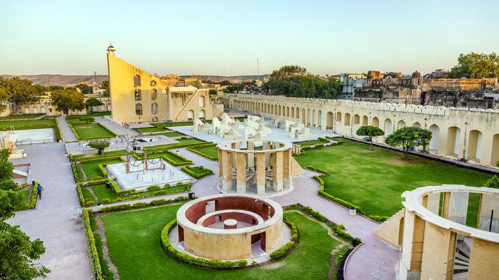 Jantar Mantar, astrologiskt centrum, Jaipur