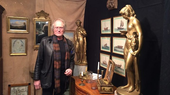 Jan-Erik Öhgren berättar initierat om Antikmässan i Brösarp och nutida antika trender.