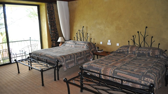 Rum på Serengeti Sopa Lodge