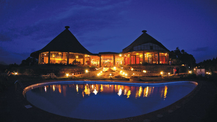 Sopa Ngorongoro Crater Lodge.