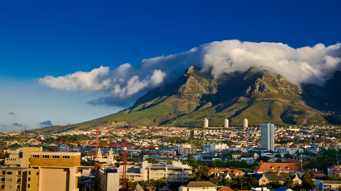 <P>Innan äventyret börjar finns det tid att upptäcka vackra Kapstaden</P>